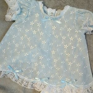 Other - Embroidered Infant Baby Dress NWOT